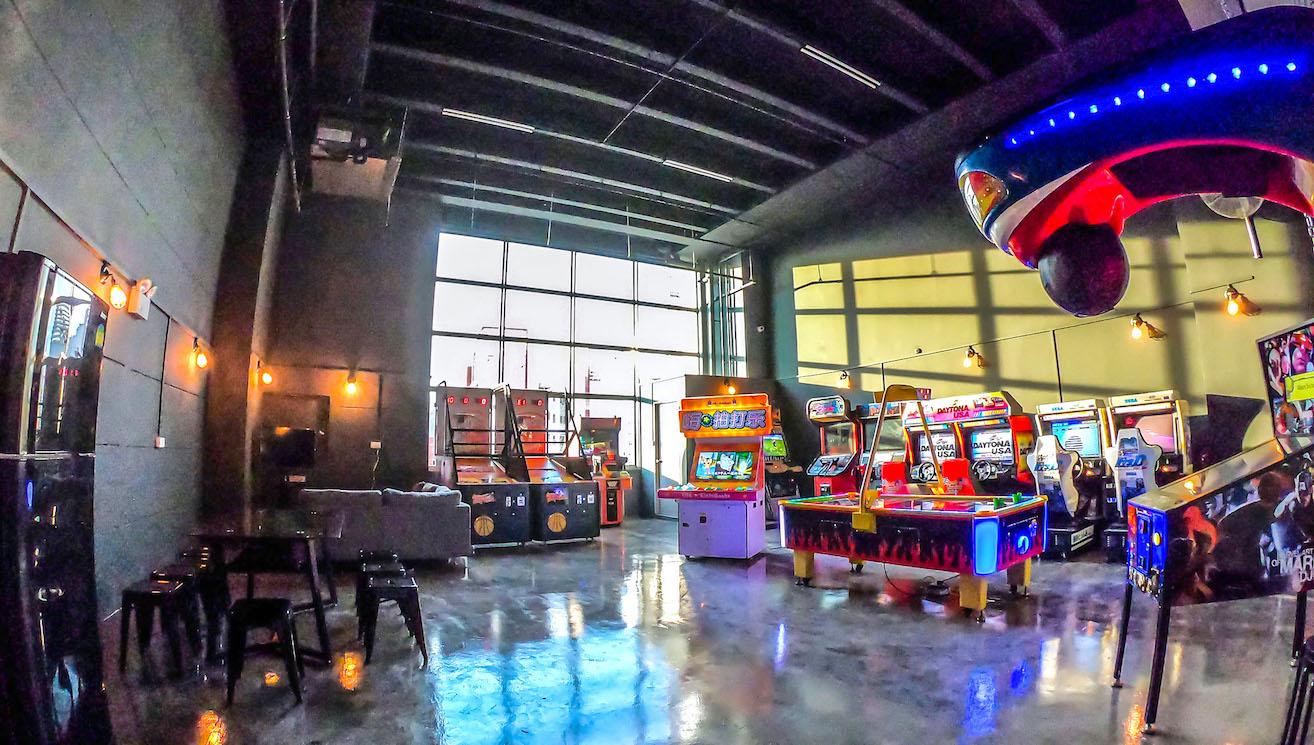 Epic Arcade Party Venue in Singapore