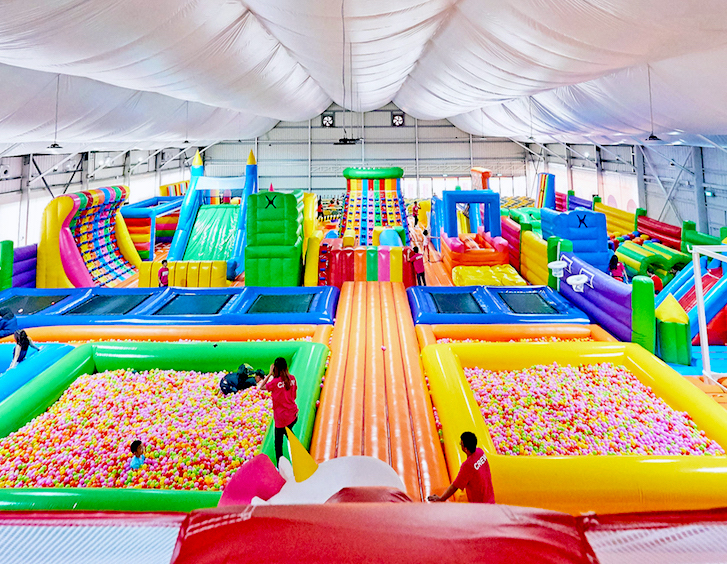 Epic Kids Playground Event in Singapore – Bouncy Paradise