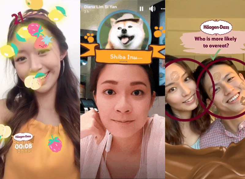 AR Filter Games for hire Singapore