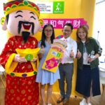 CNY God of fortune mascot Singapore