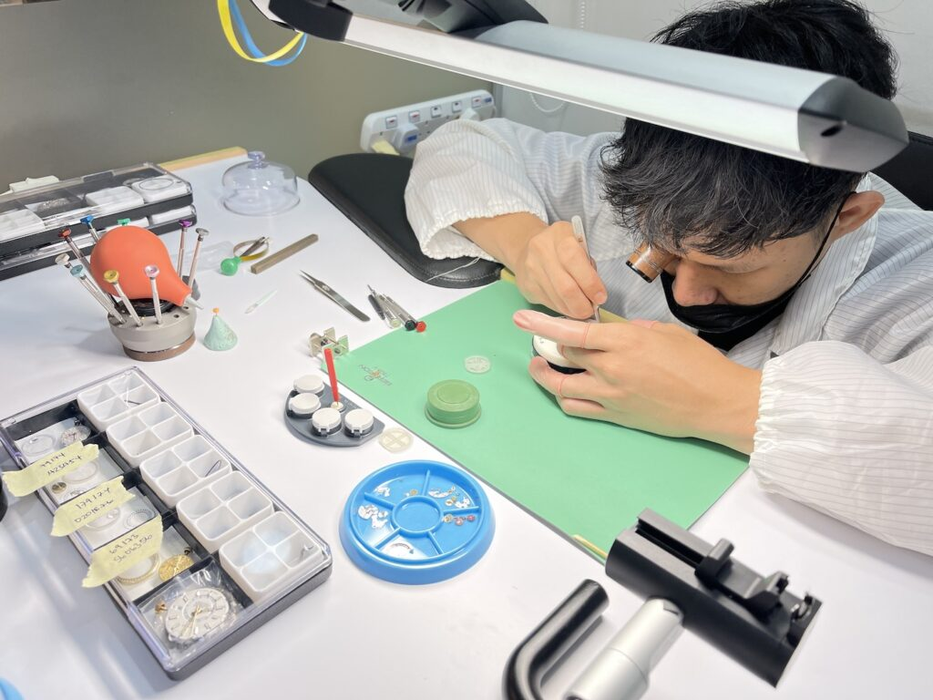 Luxury Watch Repair Services West Singapore